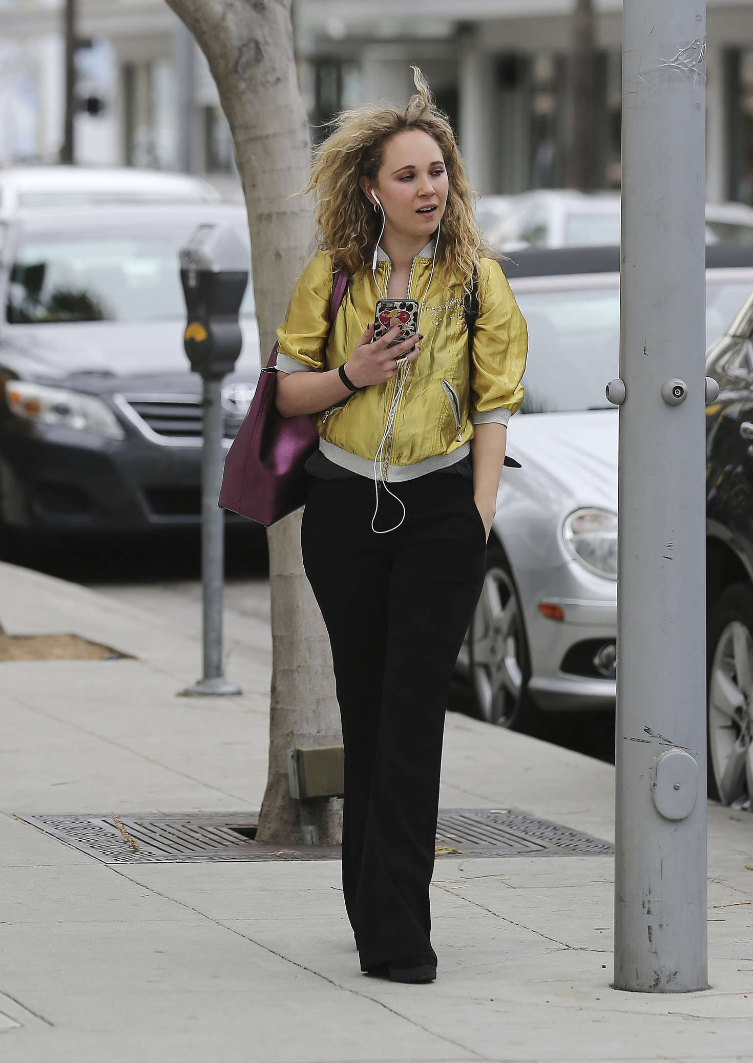 Juno Temple out in Beverly Hills