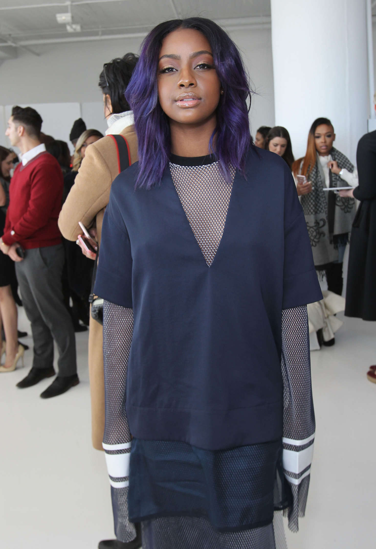 Justine Skye Laquan Smith Fashion Show in New York