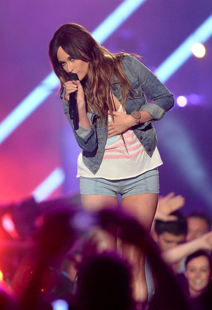 Kacey Musgraves CMT Music Awards in Nashville