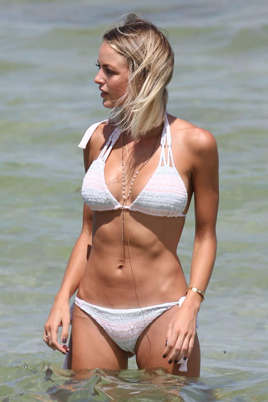 Kaitlynn Carter in Bikini on Miami Beach