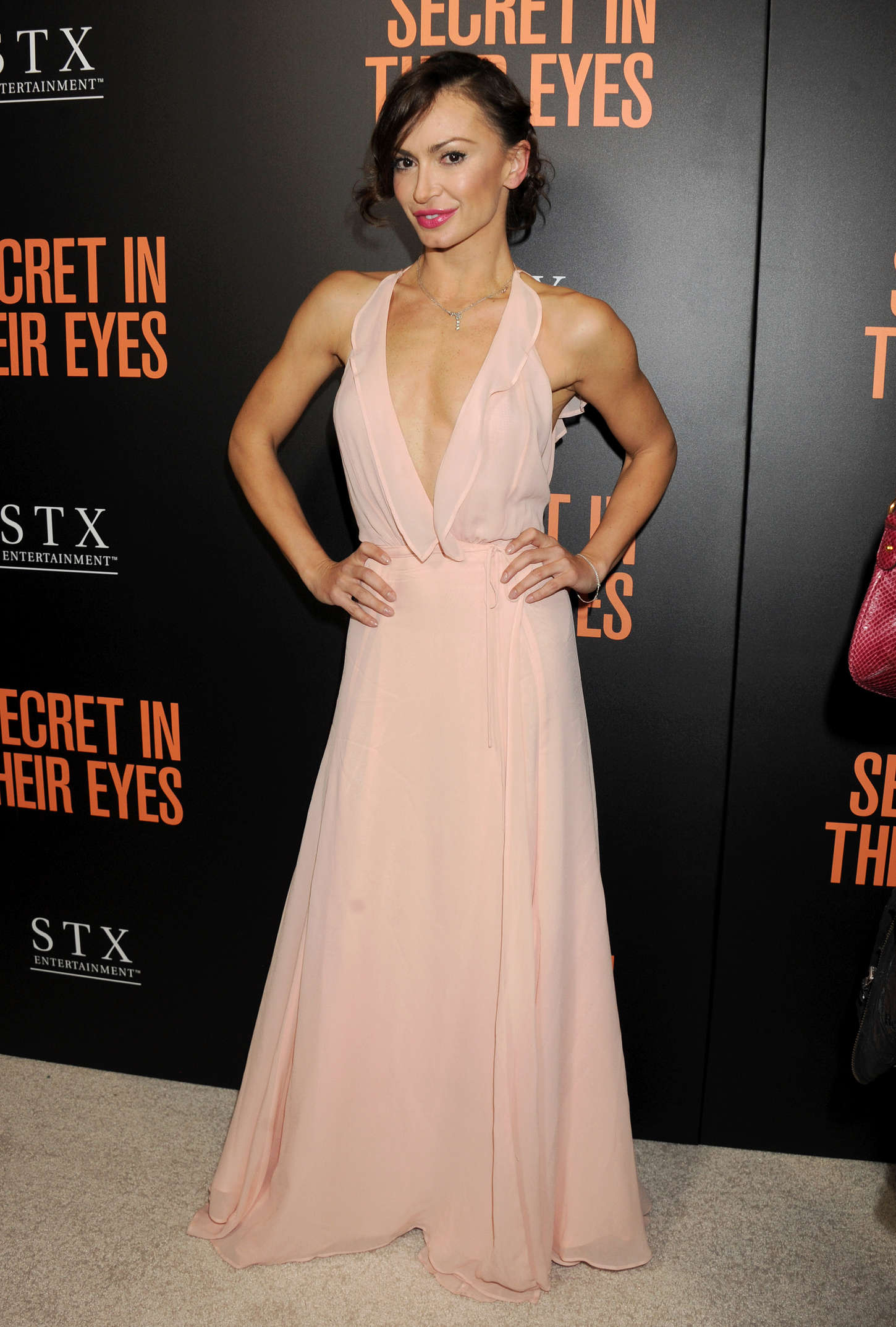 Karina Smirnoff Secret In Their Eyes Premiere in Westwood