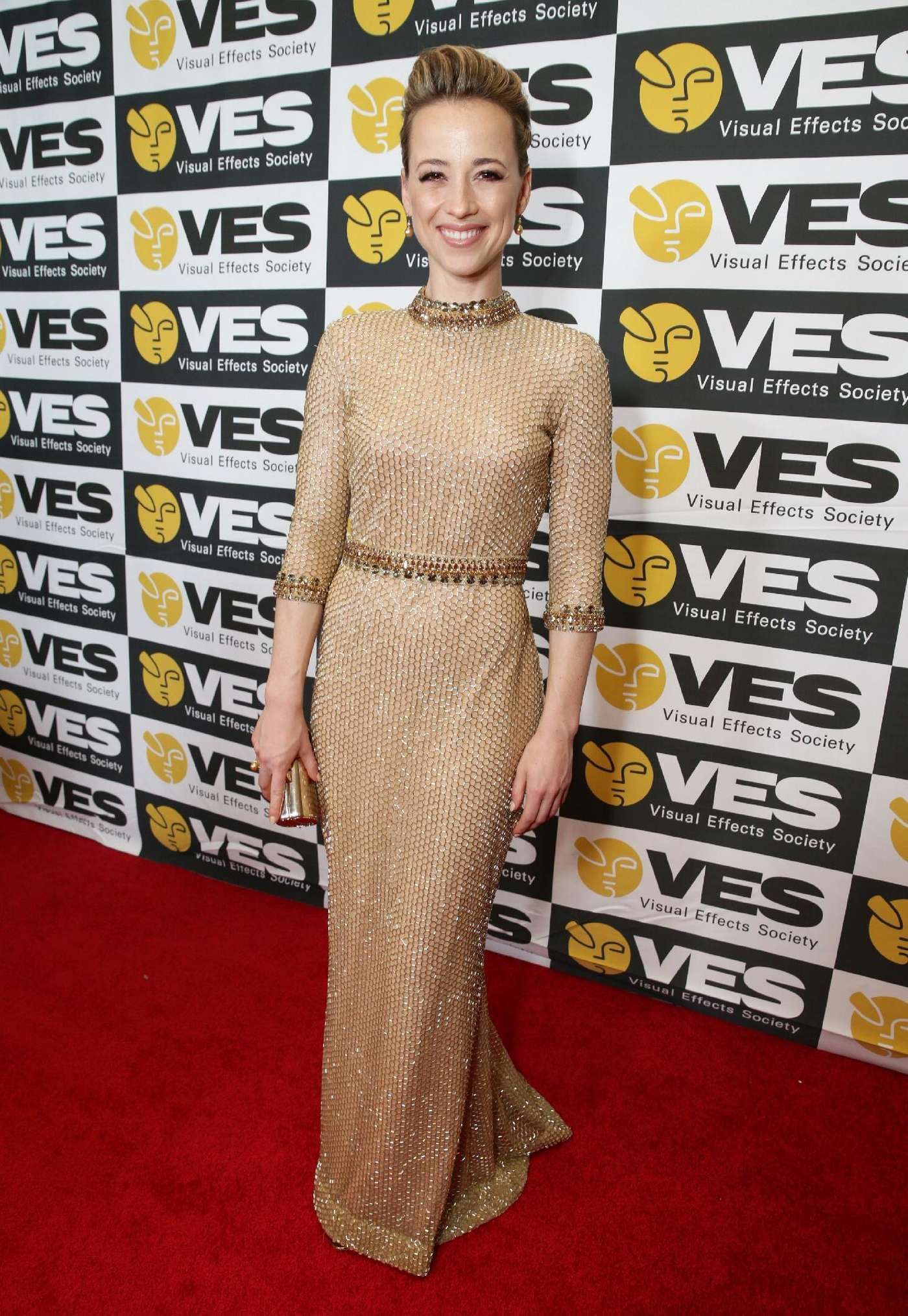 Karine Vanasse Annual VES Awards in Beverly Hills