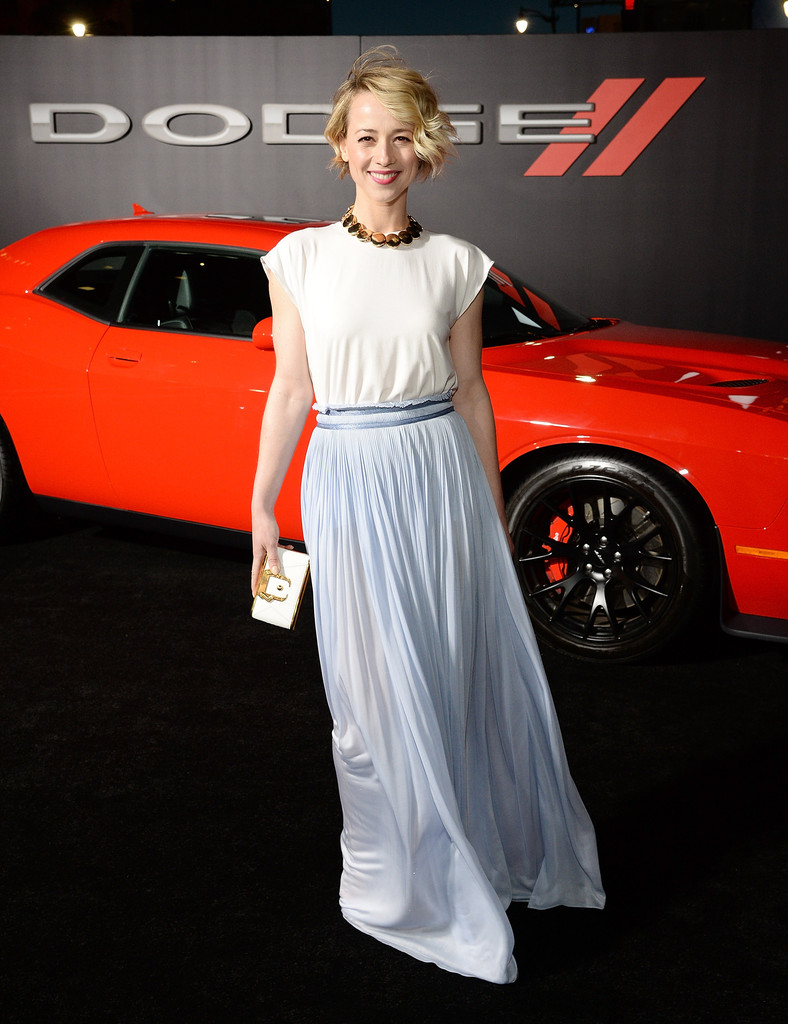 Karine Vanasse Focus Premiere in Los Angeles