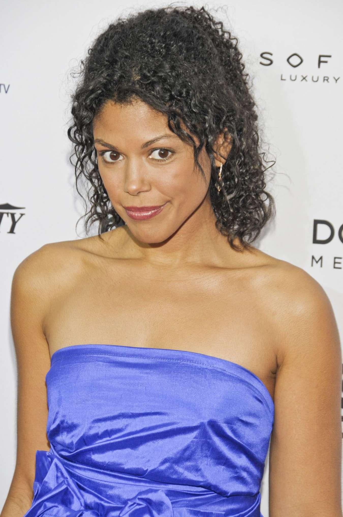 Karla Mosley International Emmy Awards in New York