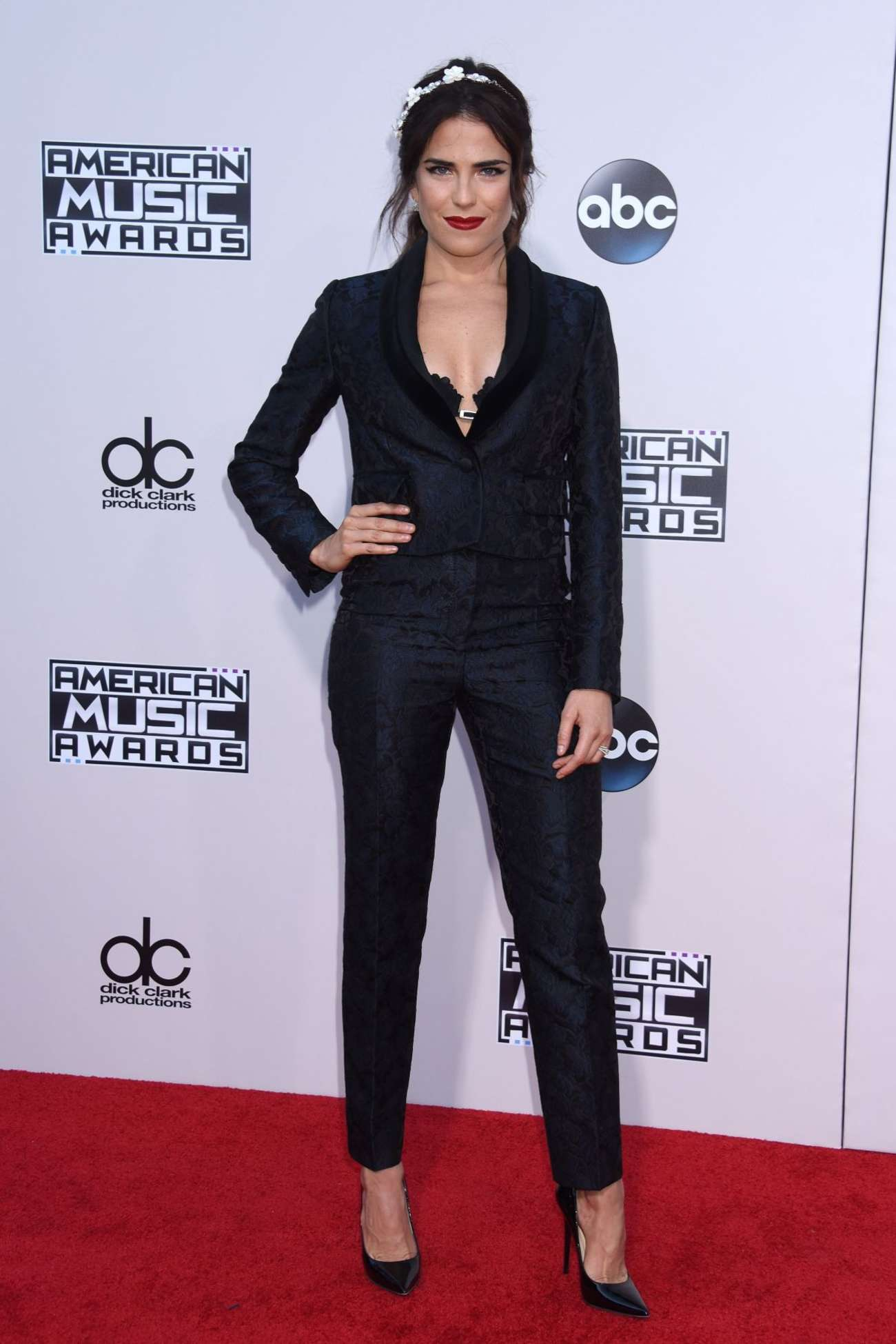 Karla Souza American Music Awards in Los Angeles