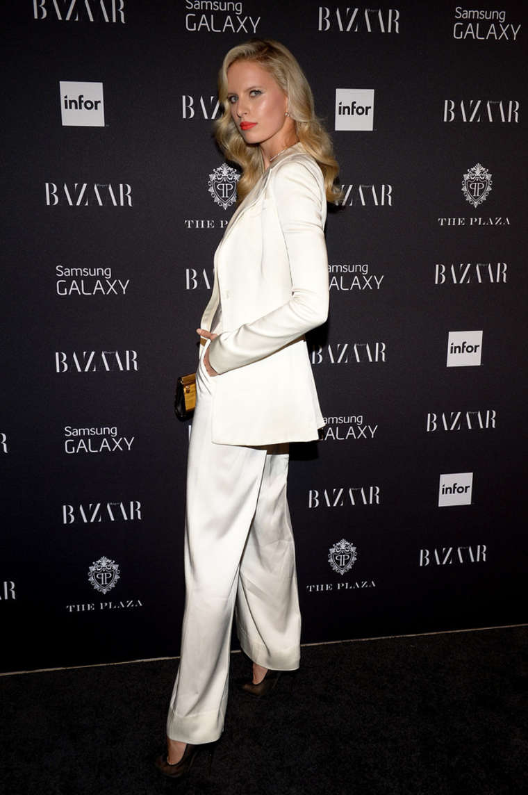 Karolina Kurkova Harpers BAZAAR Celebrates Icons By Carine Roitfeld in New York