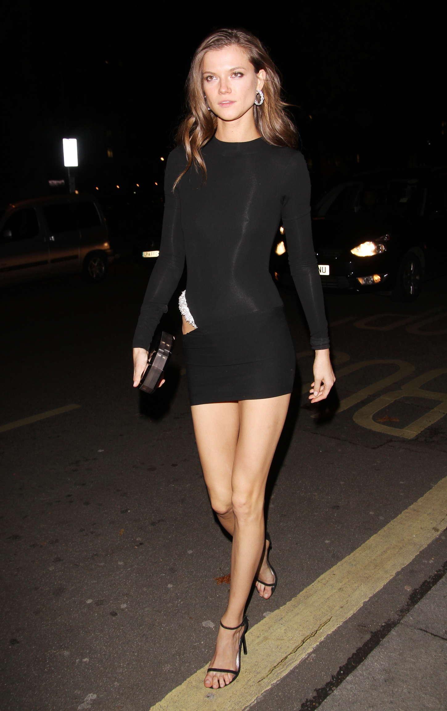 Kasia Struss Night Out In London