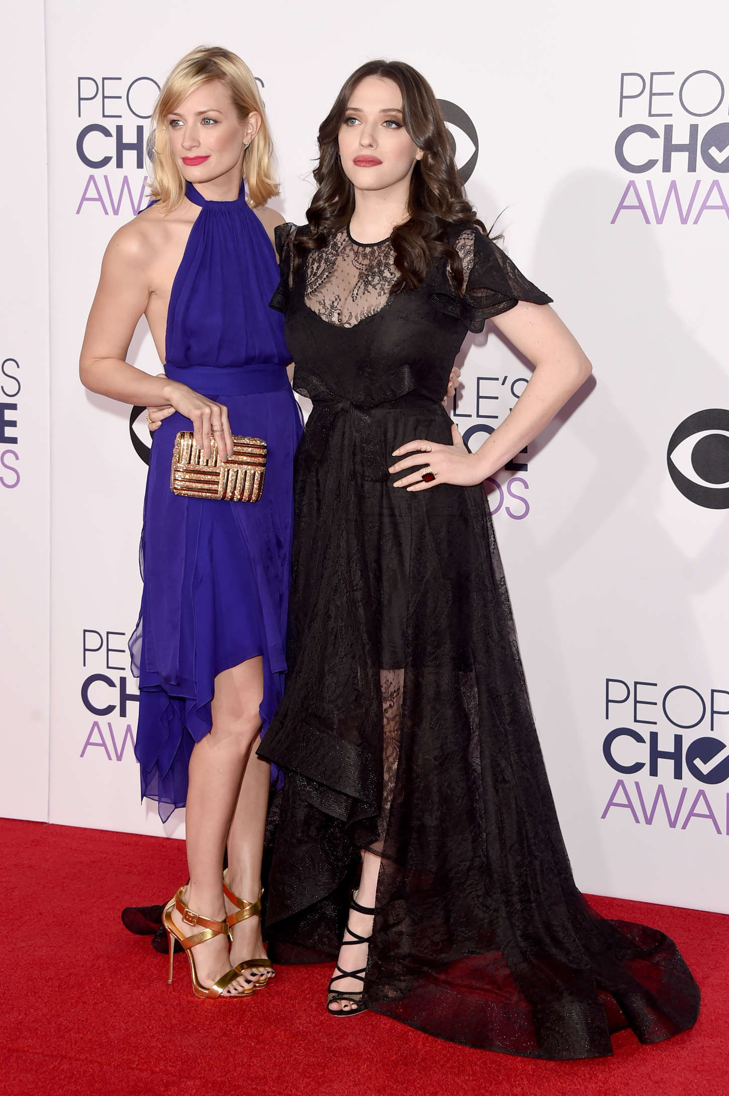 Kat Dennings Annual Peoples Choice Awards in Los Angeles