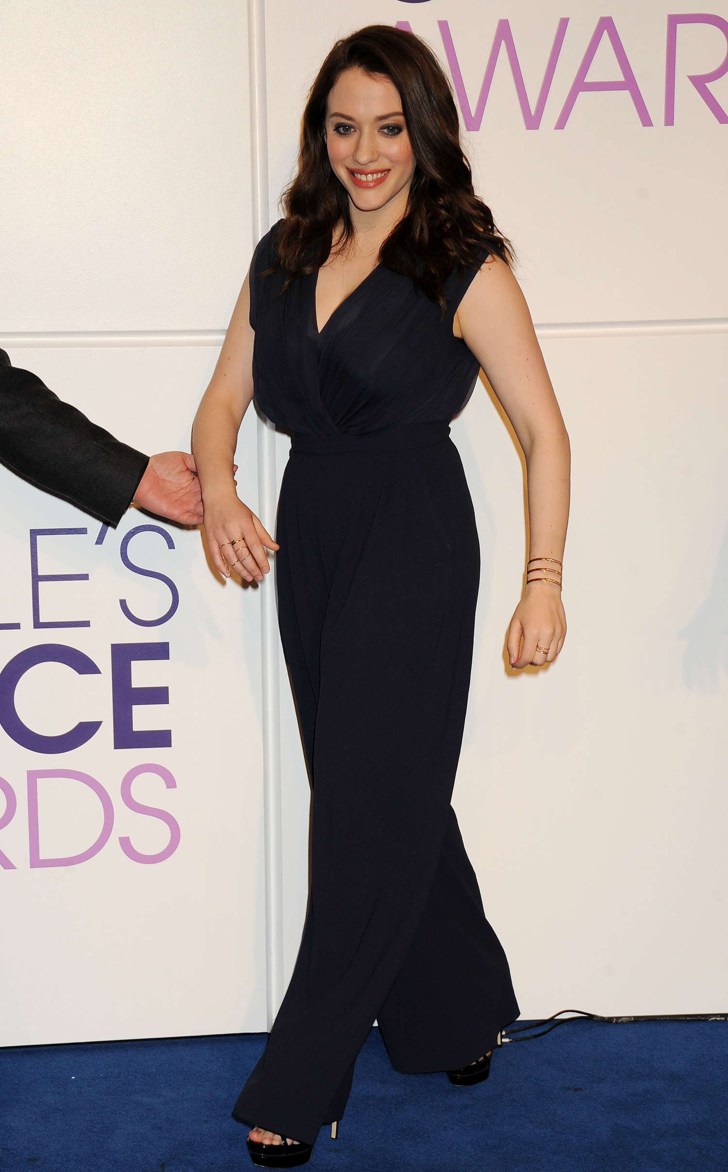 Kat Dennings annual Peoples Choice Awards Nominations in Los Angeles