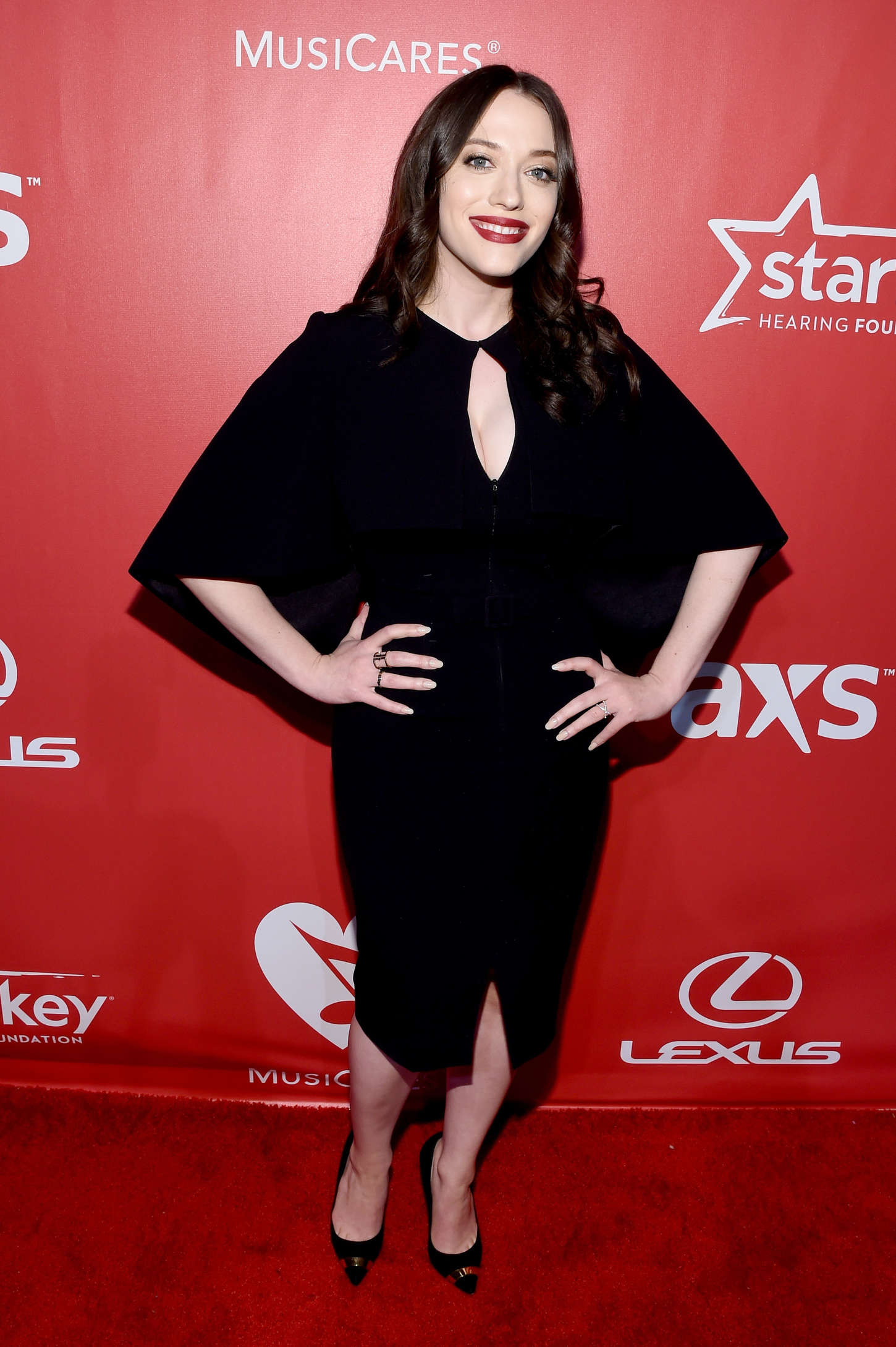Kat Dennings MusiCares Person Of The Year Gala Honoring Bob Dylan in Los Angeles