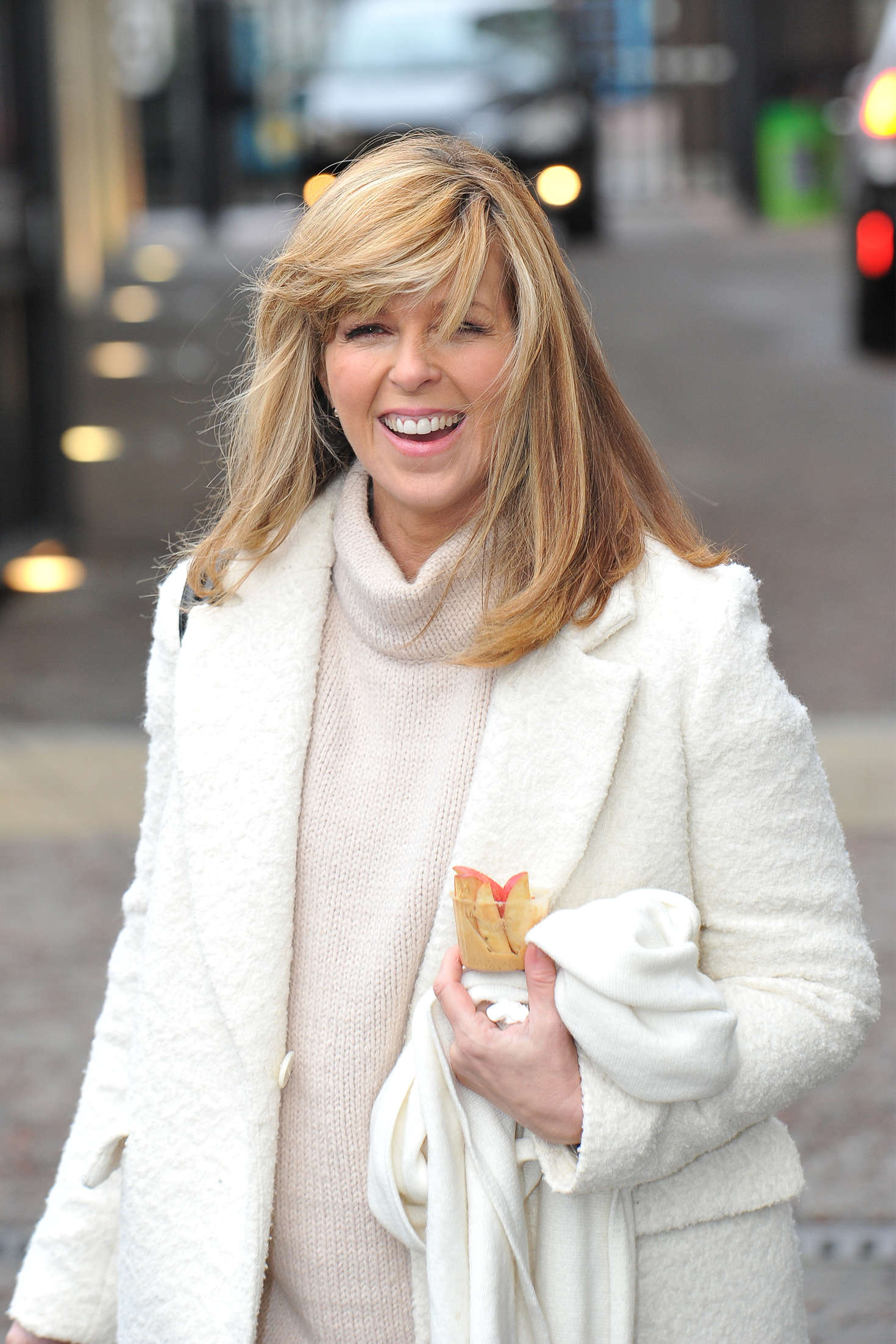 Kate Garraway out in Lodnon