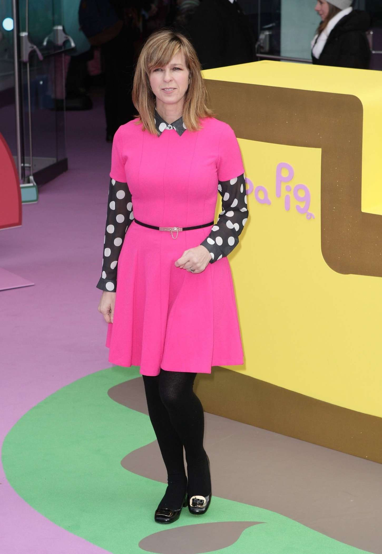 Kate Garraway Peppa Pig The Golden Boots Premiere in London