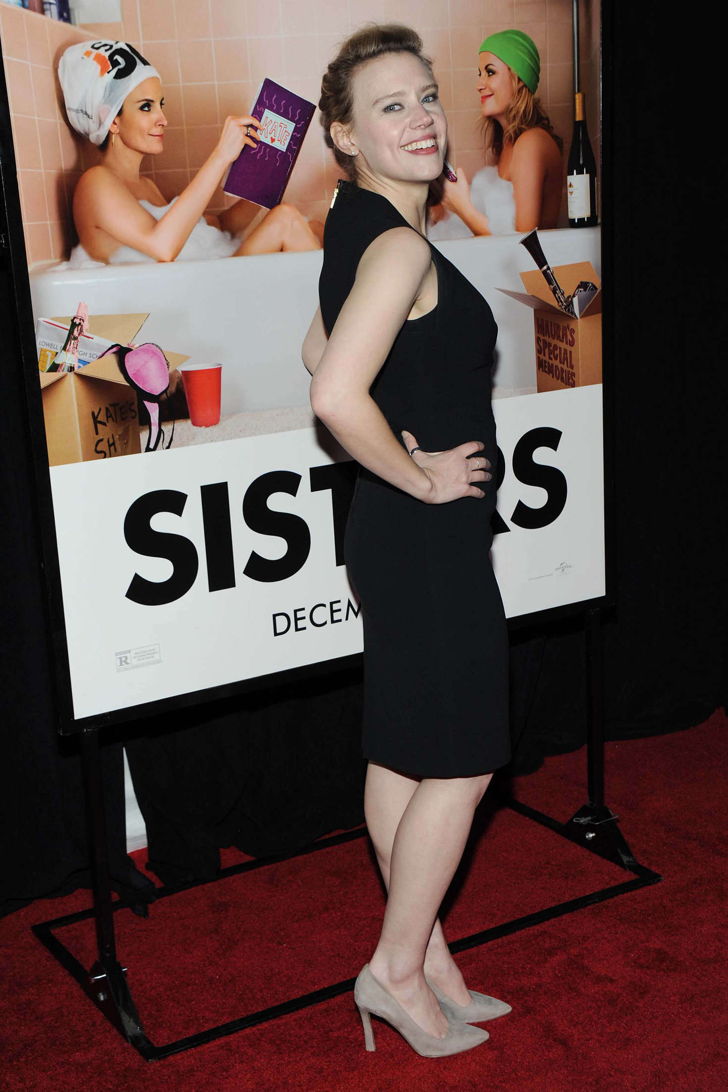 Kate McKinnon Sisters Premiere in New York