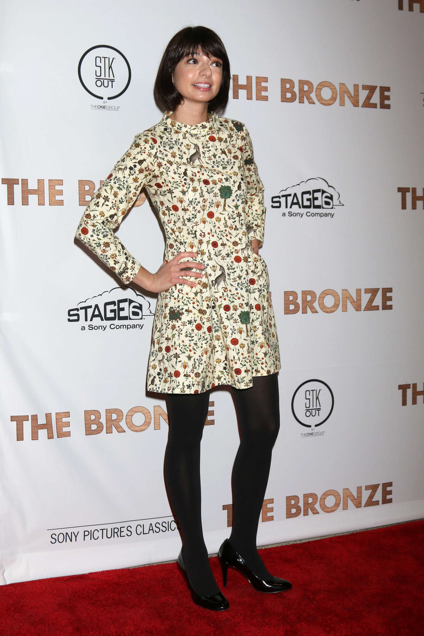 Kate Micucci The Bronze Premiere in Los Angeles