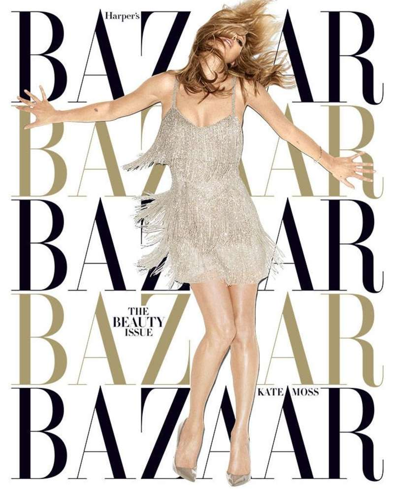 Kate Moss Harpers Bazaar Magazine
