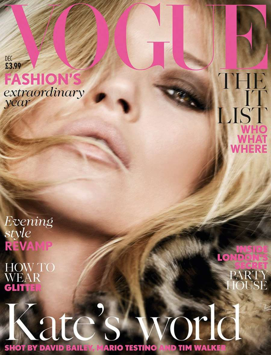 Kate Moss Vogue UK