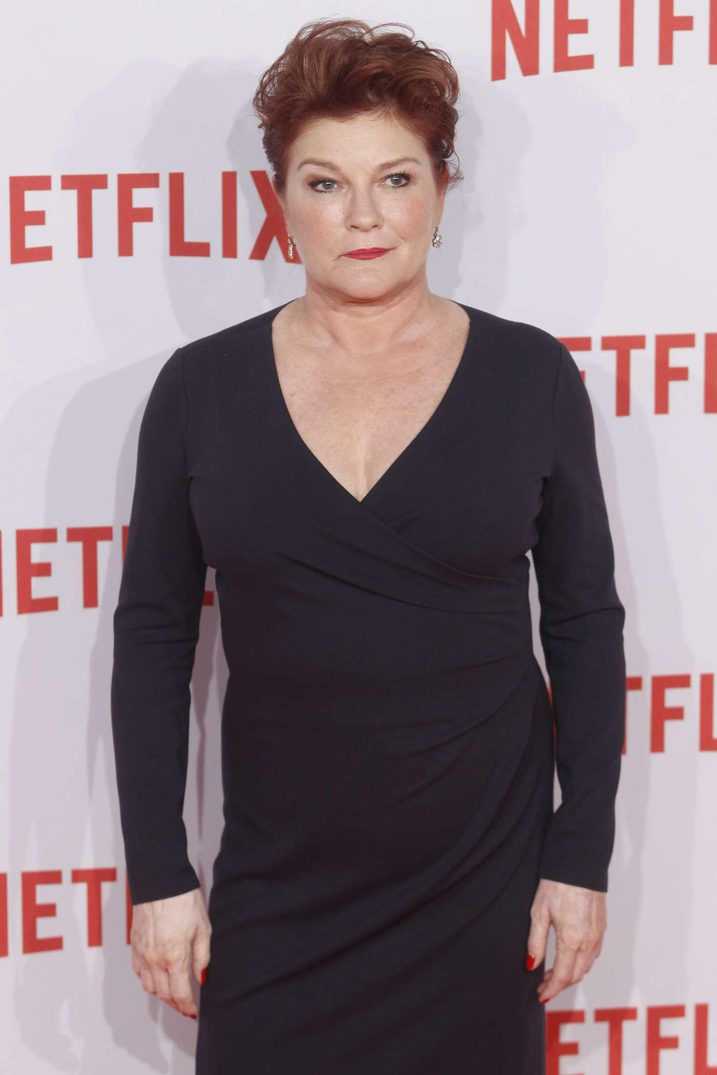 Kate Mulgrew Netflix Presentation in Madrid