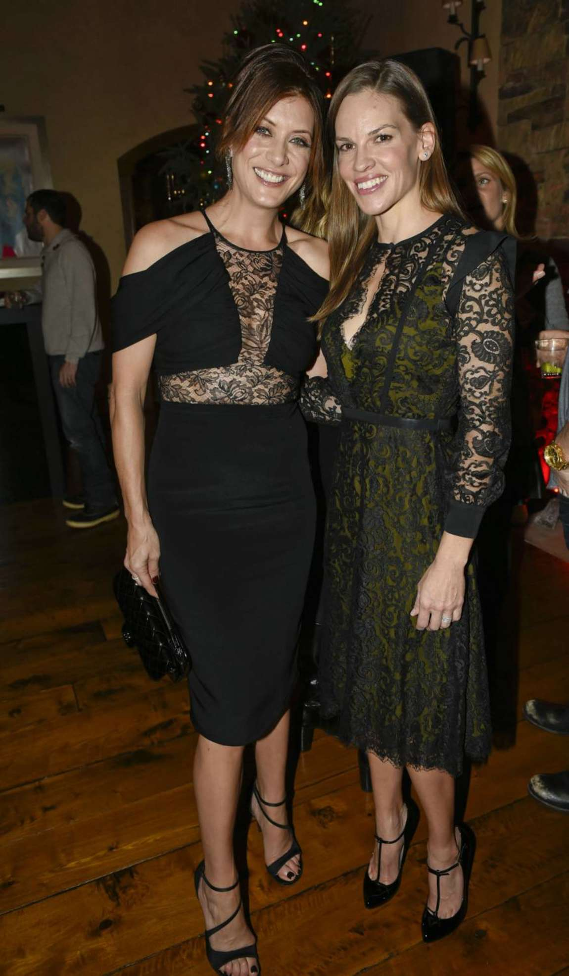 Kate Walsh Hilary Swank Audi Celebrates The Holidays In Aspen