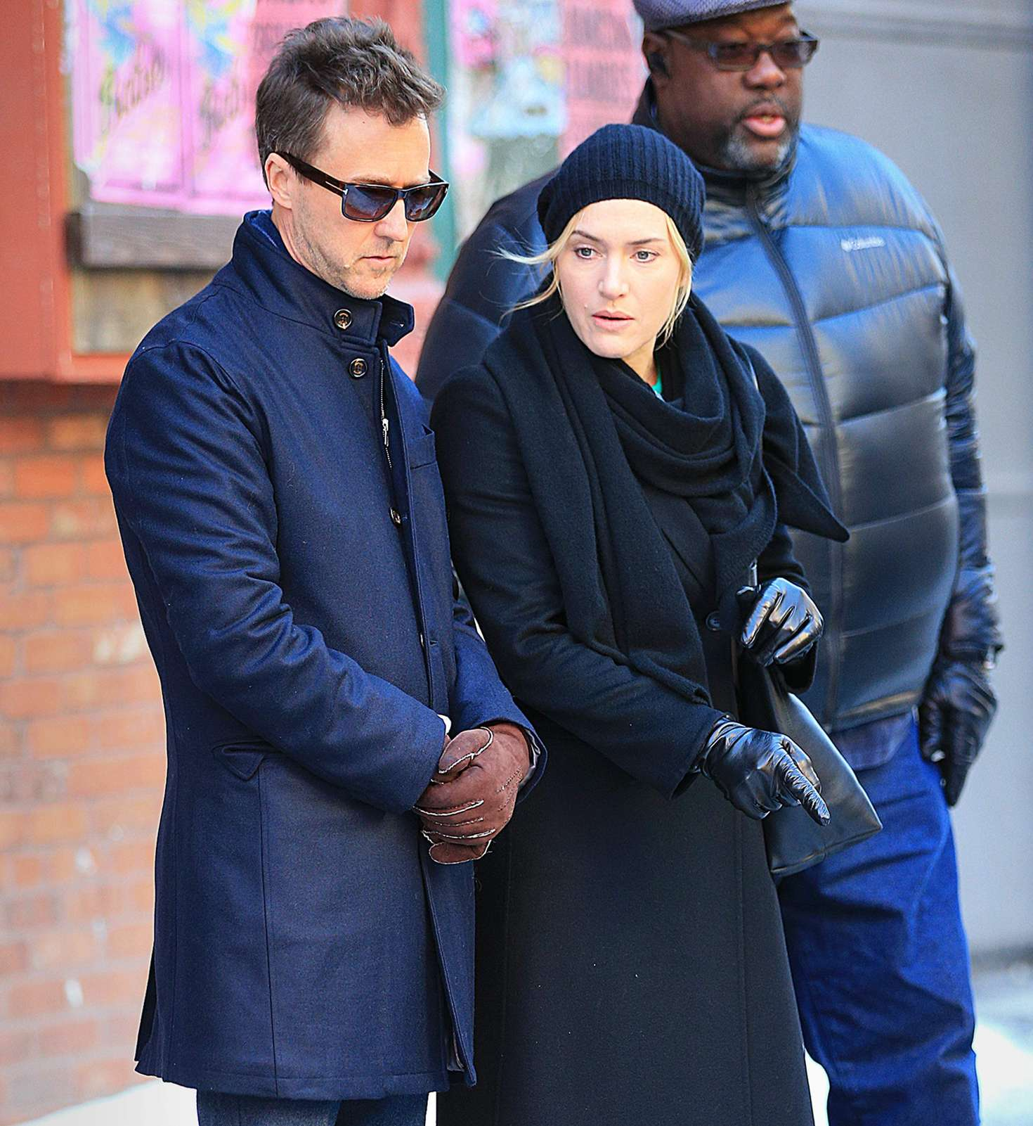 Kate Winslet Filming Collateral Beauty in New York