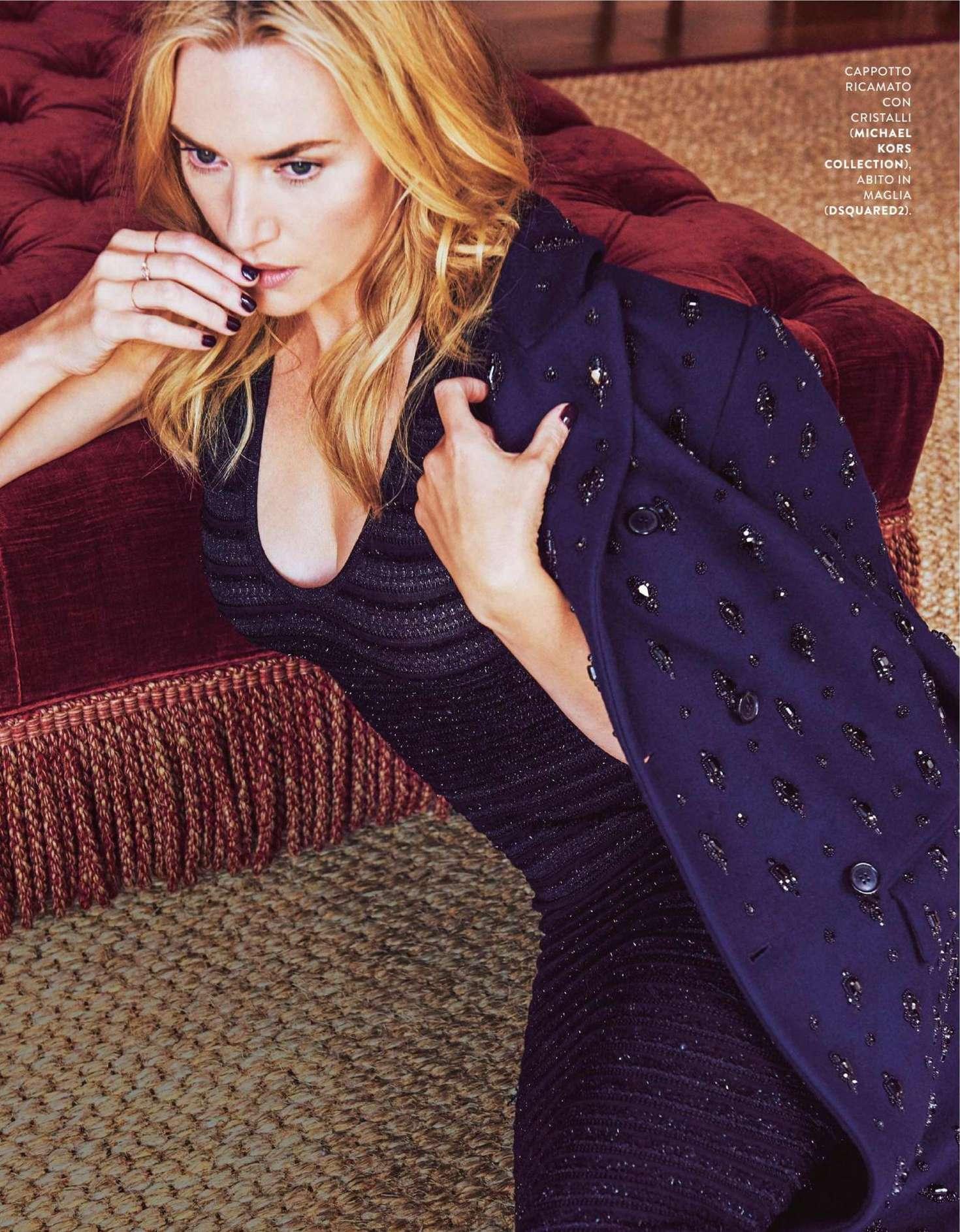 Kate Winslet Grazia Italy Magazine