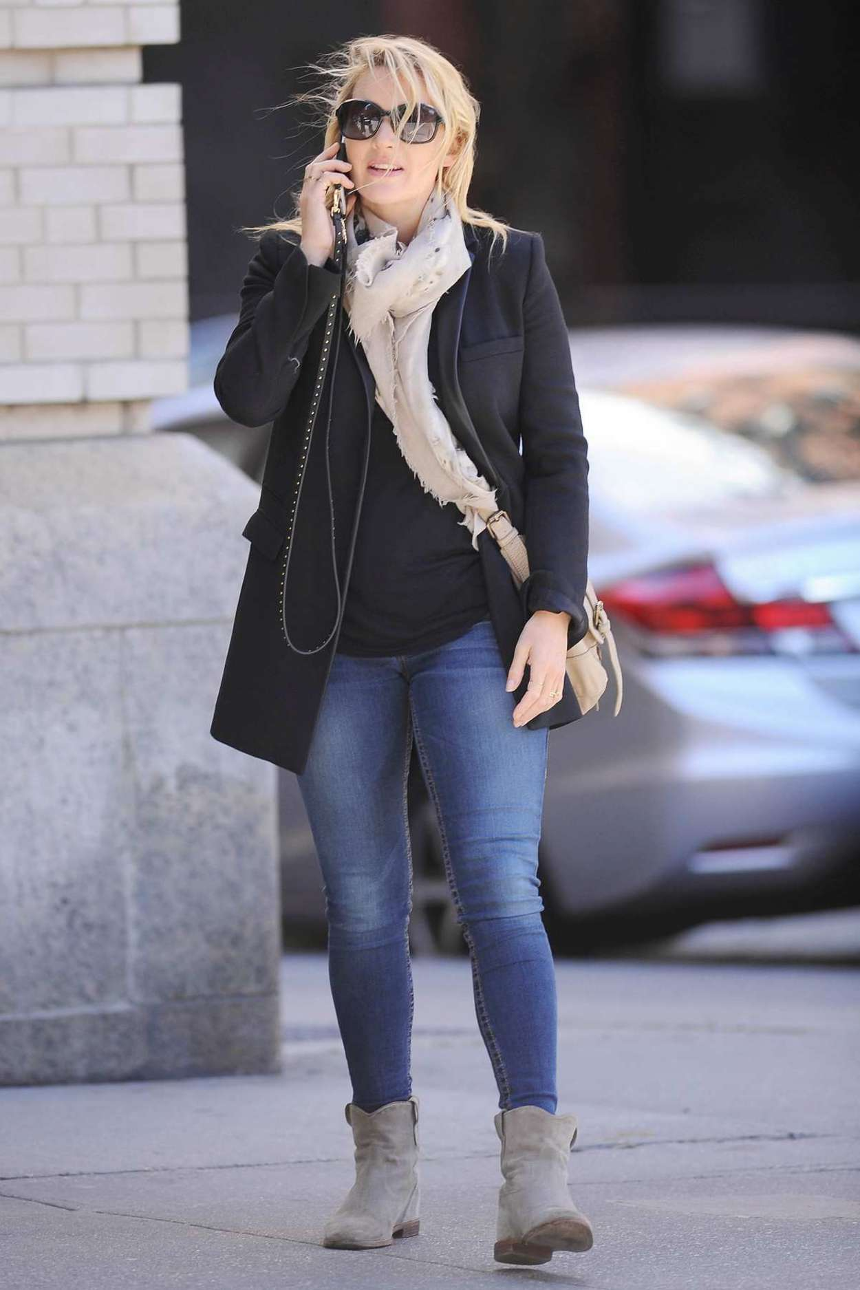 Kate Winslet out in Tribeca