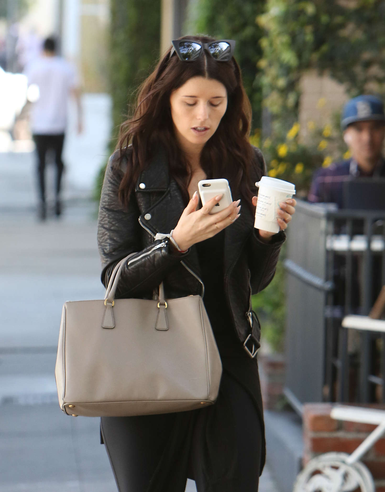 Katherine Schwarzenegger out for coffee in West Hollywood