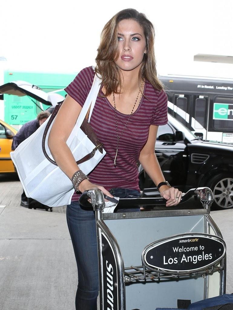Katherine Webb at LAX Airport