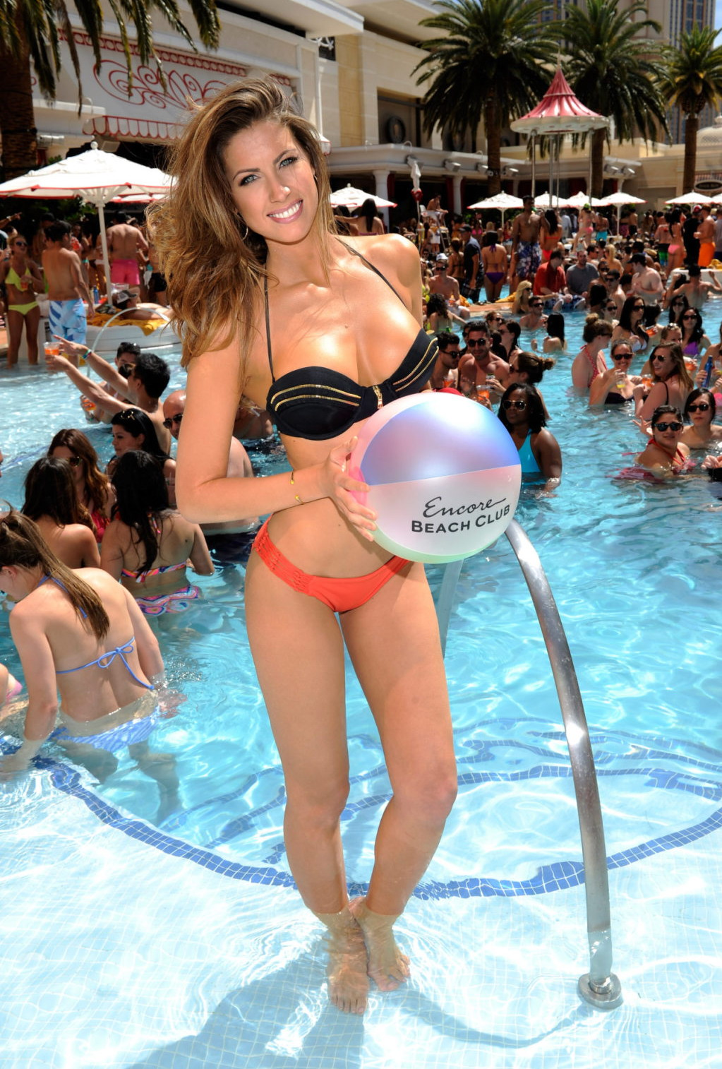 Katherine Webb at Party at Encore Beach Club in Vegas