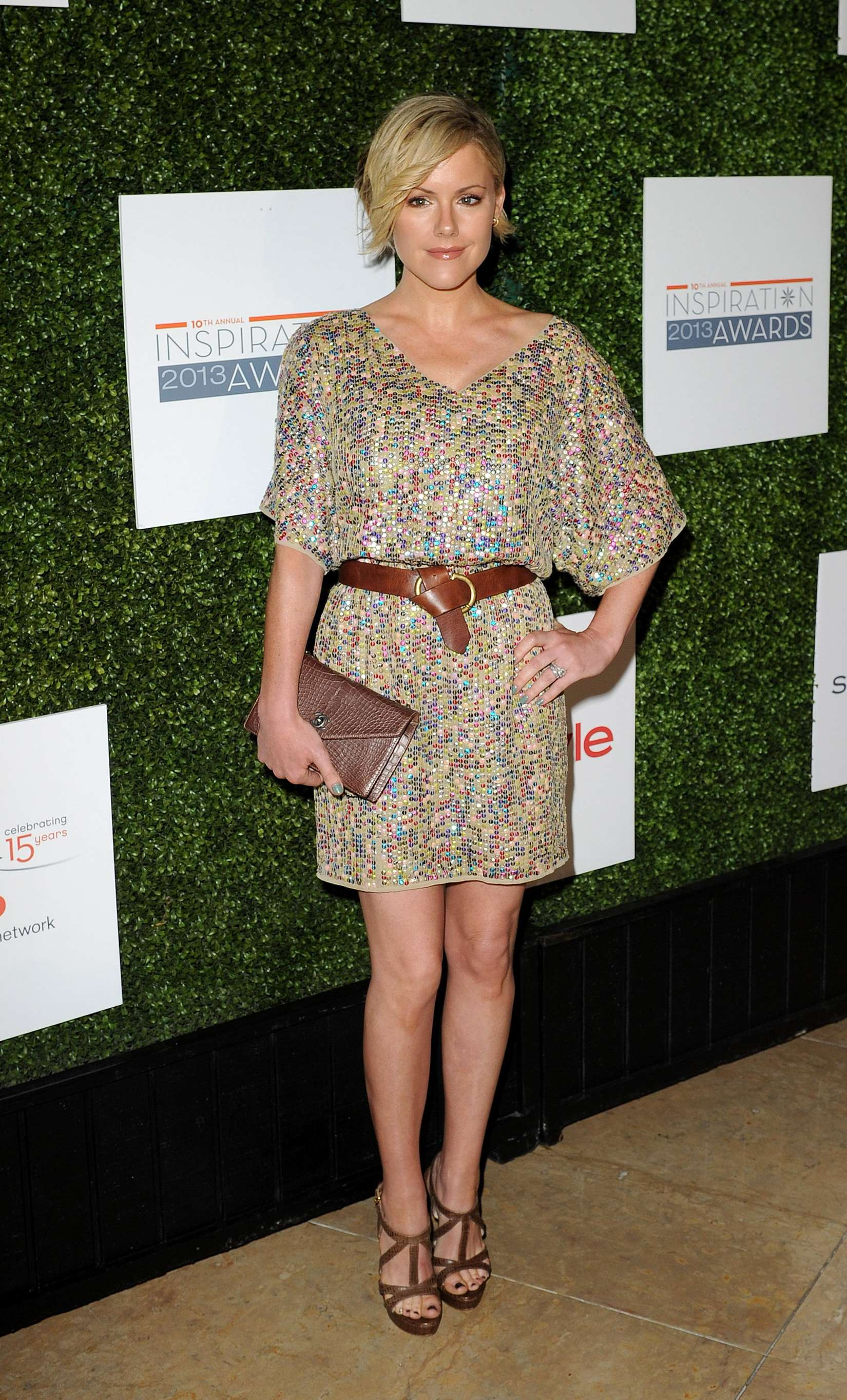 Kathleen Robertson Annual Inspiration Awards in Beverly Hills
