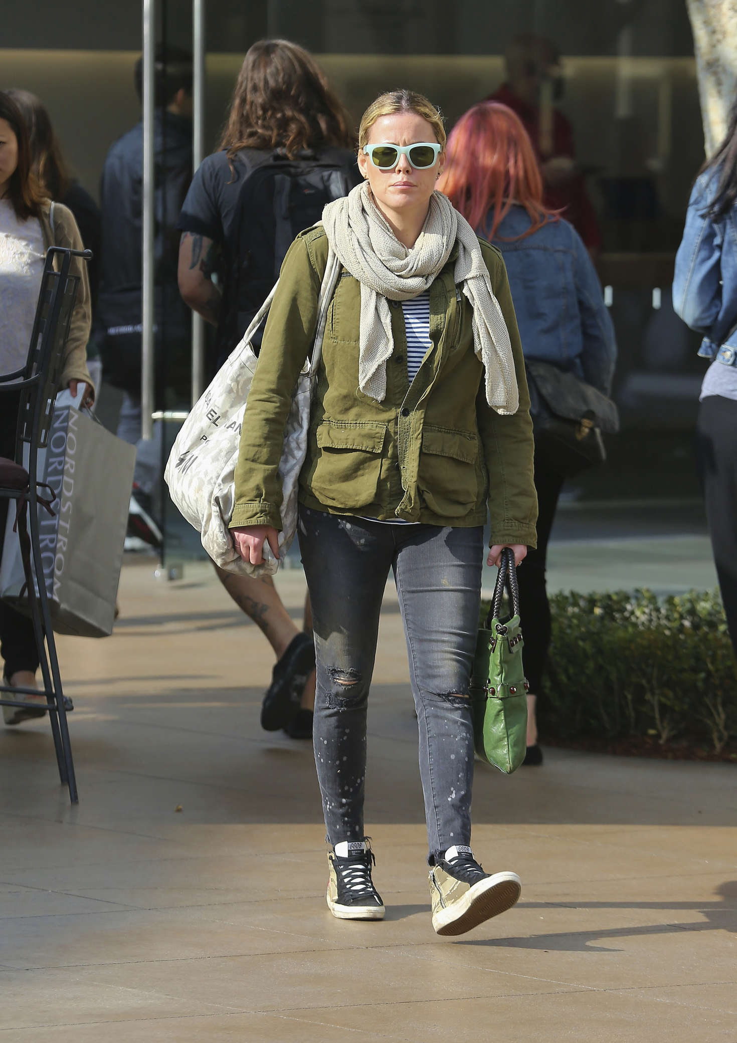 Kathleen Robertson Shopping in West Hollywood