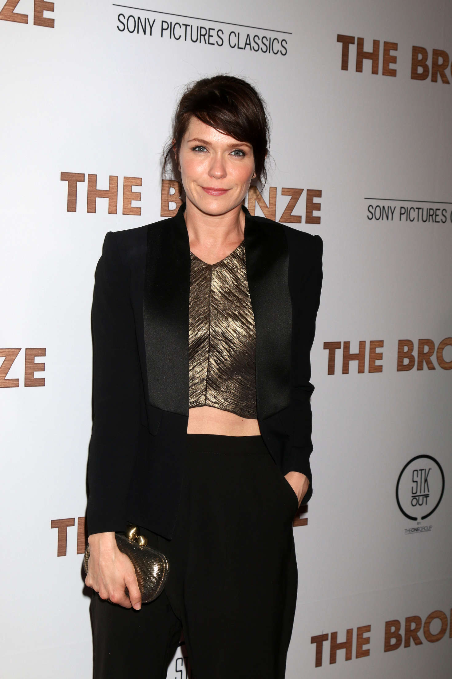 Katie Aselton The Bronze Premiere in Los Angeles