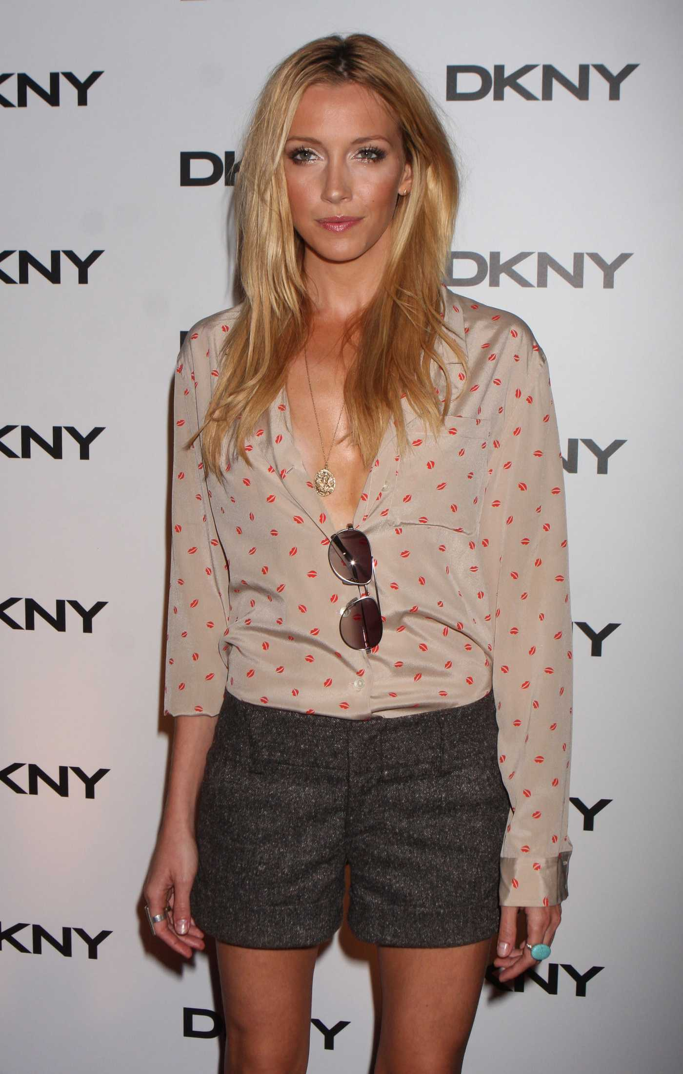 Katie Cassidy DKNY Sun Soiree at The Beach