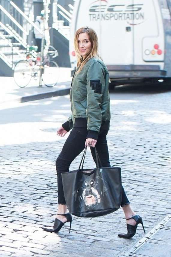 Katie Cassidy on a Photoshoot in New York