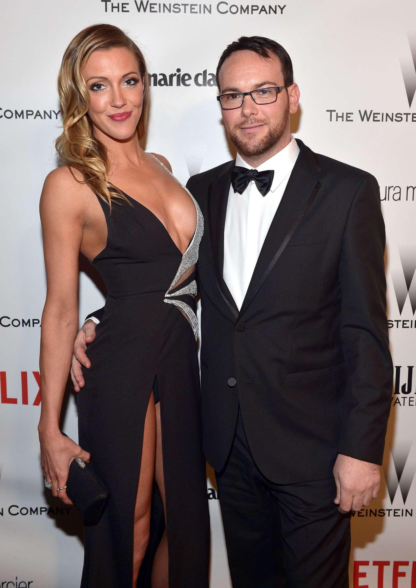 Katie Cassidy The Weinstein Company Netflixs Golden Globes Party in Beverly Hills