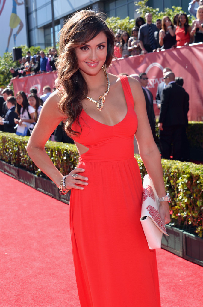 Katie Cleary ESPY Awards in Los Angeles