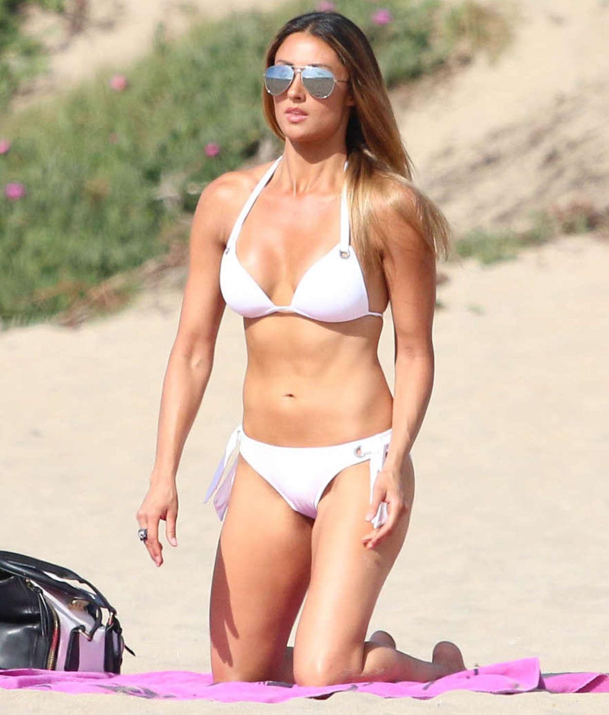 Katie Cleary Wearing Bikini in Malibu