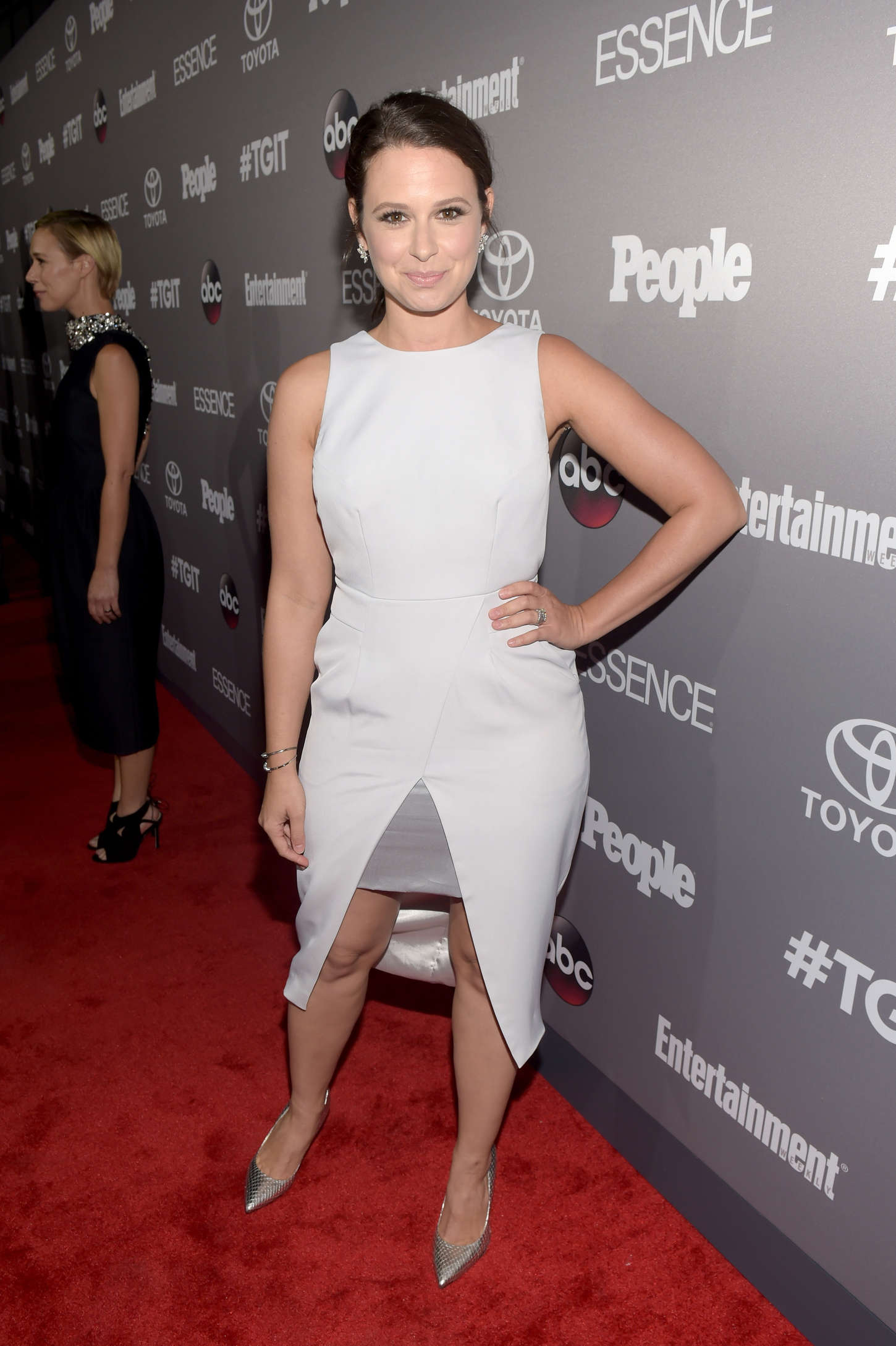 Katie Lowes ABCs TGIT line-up Celebration in West Hollywood