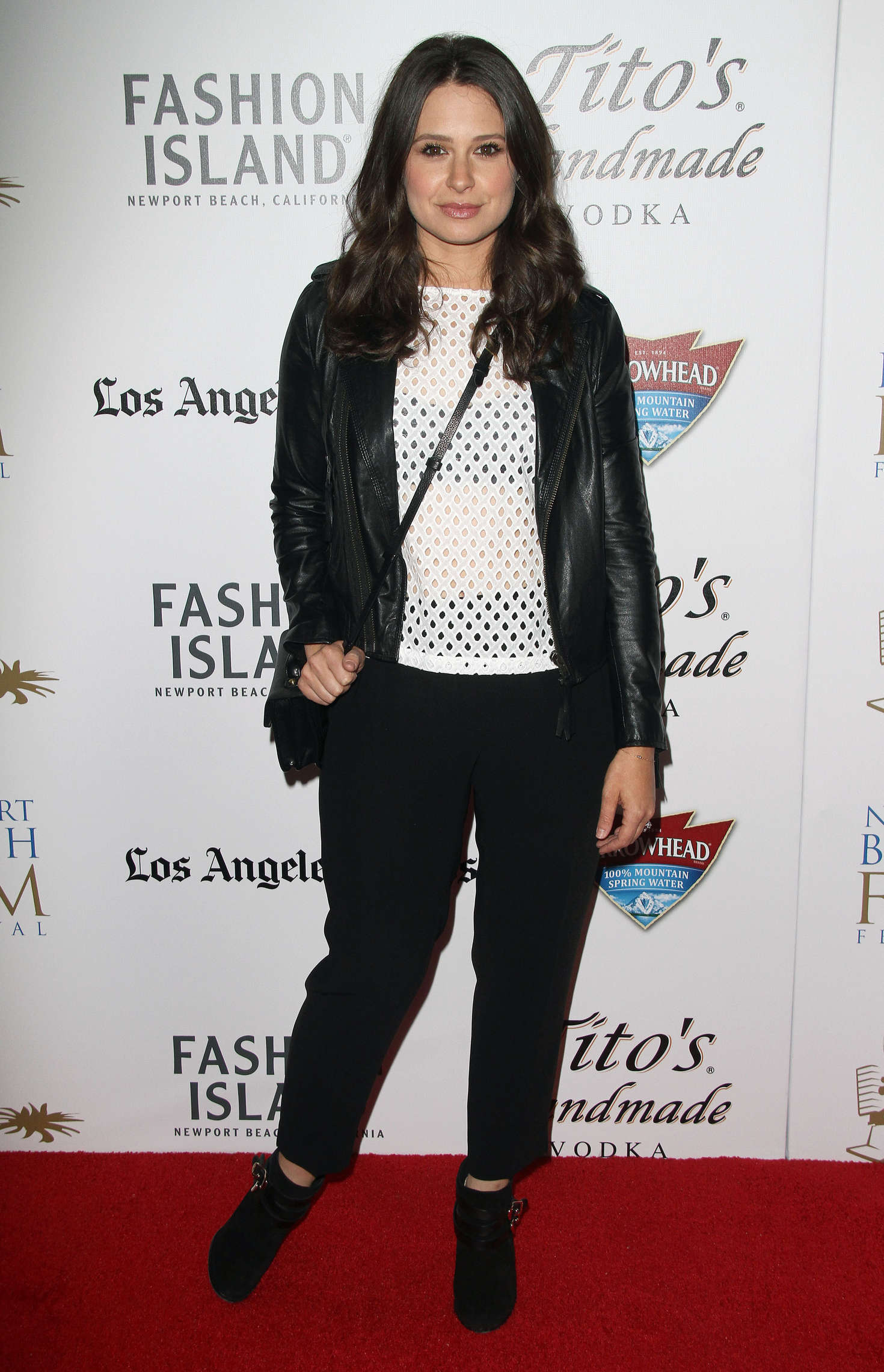 Katie Lowes Annual Newport Beach Film Festival in Newport Beach