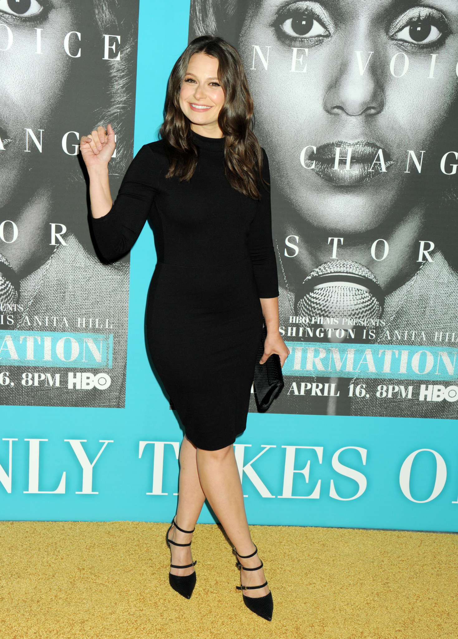 Katie Lowes Confirmation Premiere in Hollywood