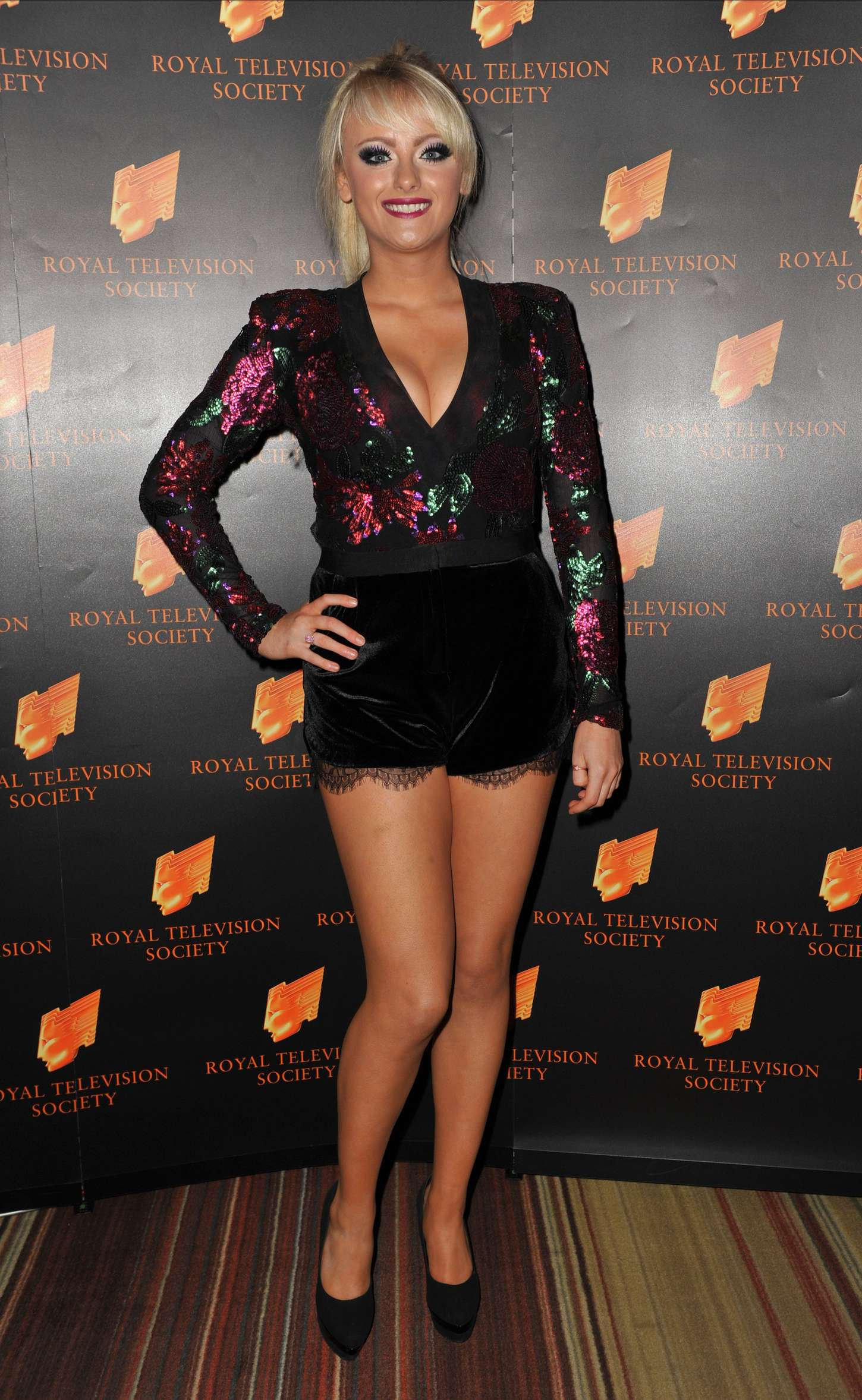 Katie McGlynn RTS Awards in Manchester