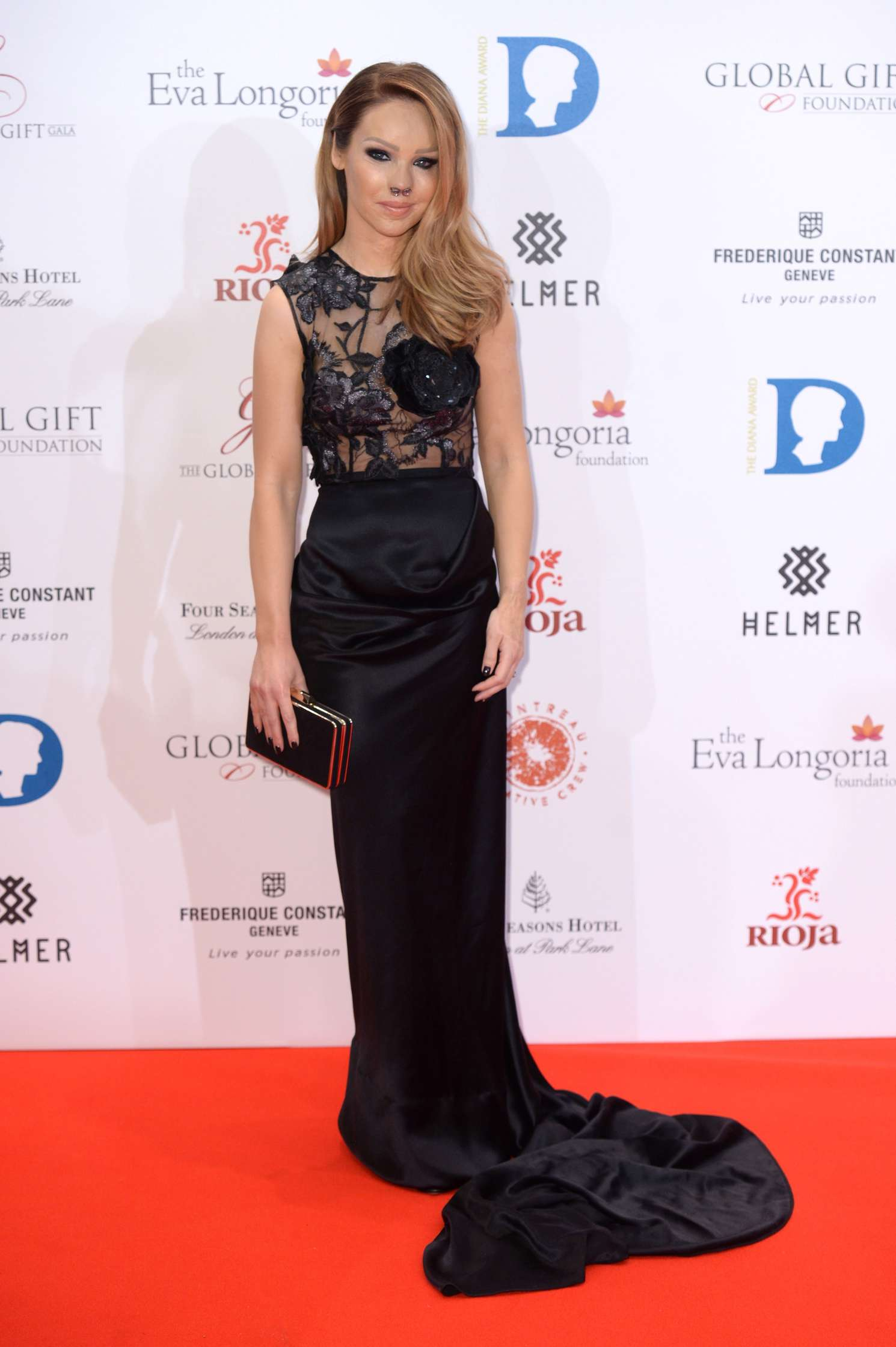 Katie Piper The Global Gift Gala in London adds
