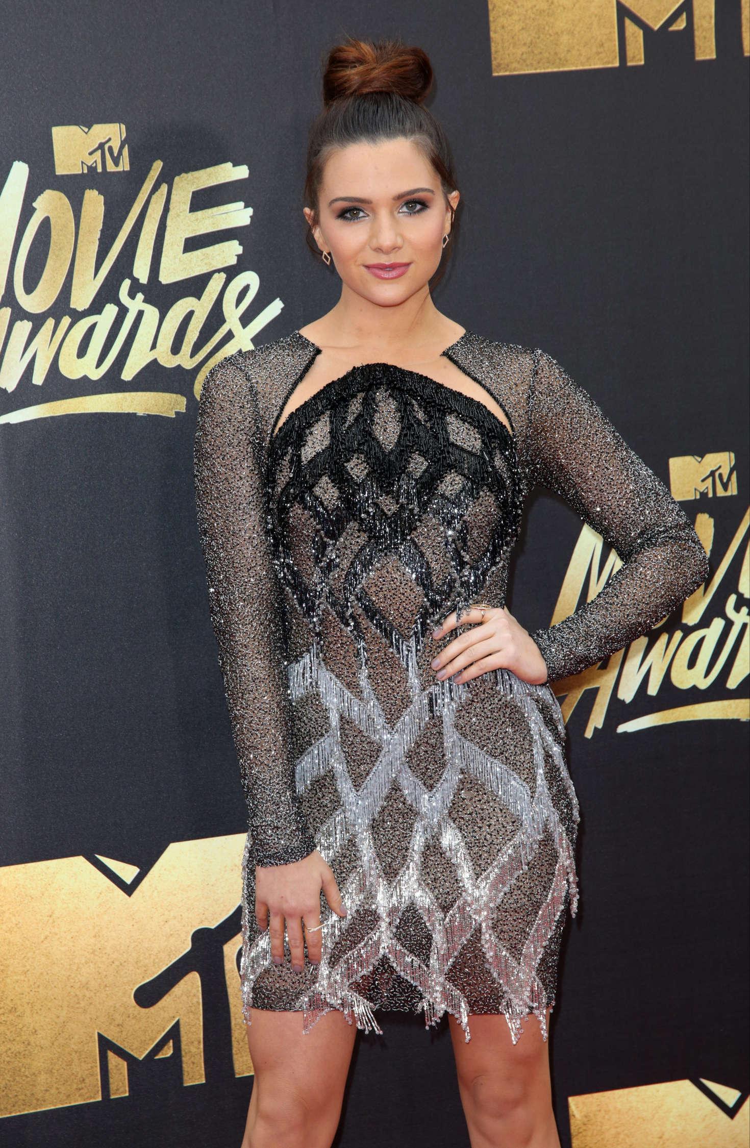Katie Stevens MTV Movie Awards in Burbank