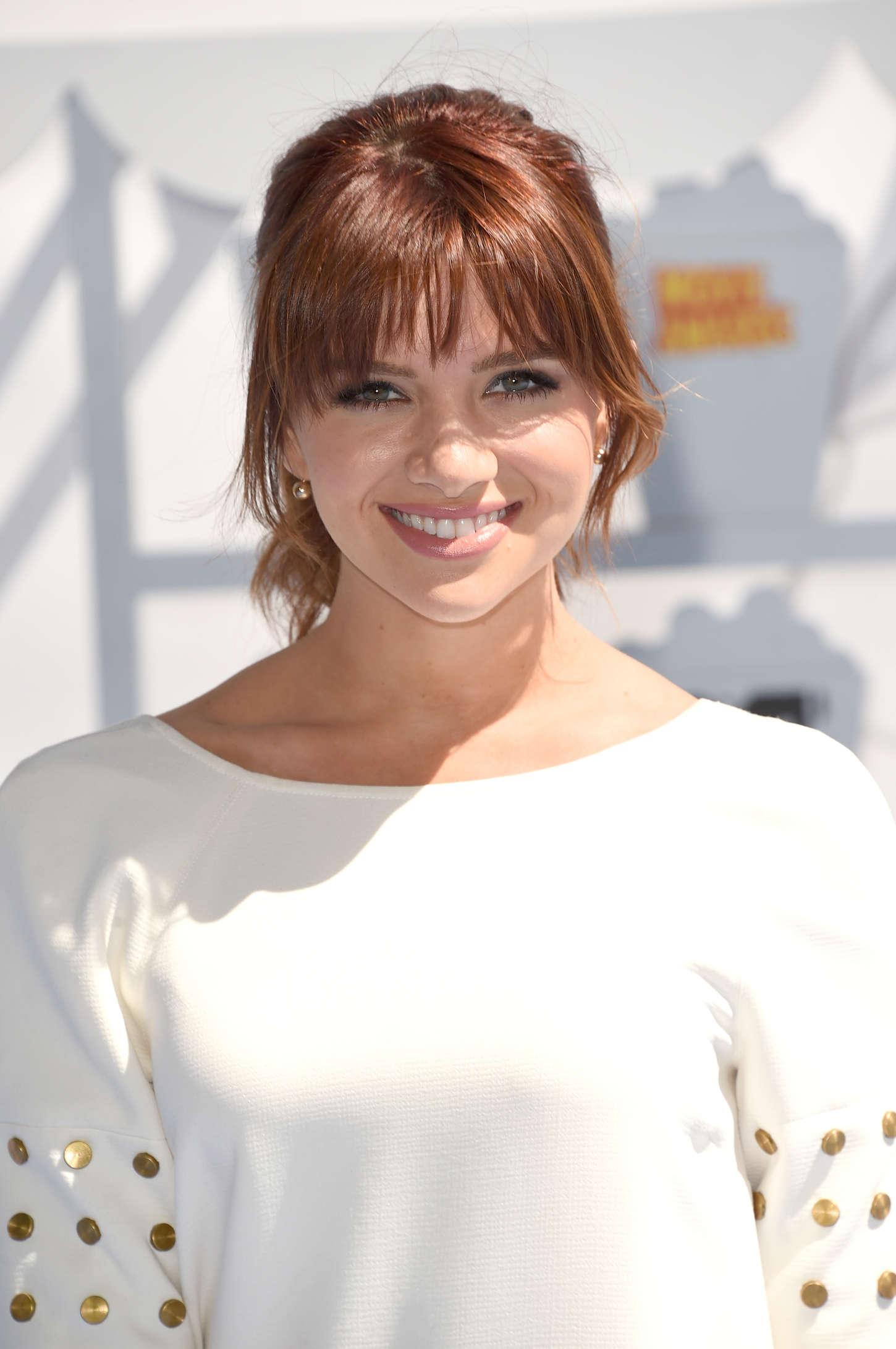 Katie Stevens MTV Movie Awards in Los Angeles