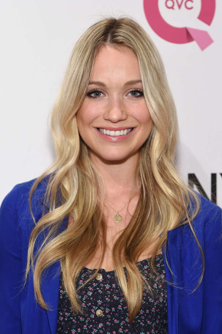 Katrina Bowden QVC Presents FFANY Shoes on Sale in New York