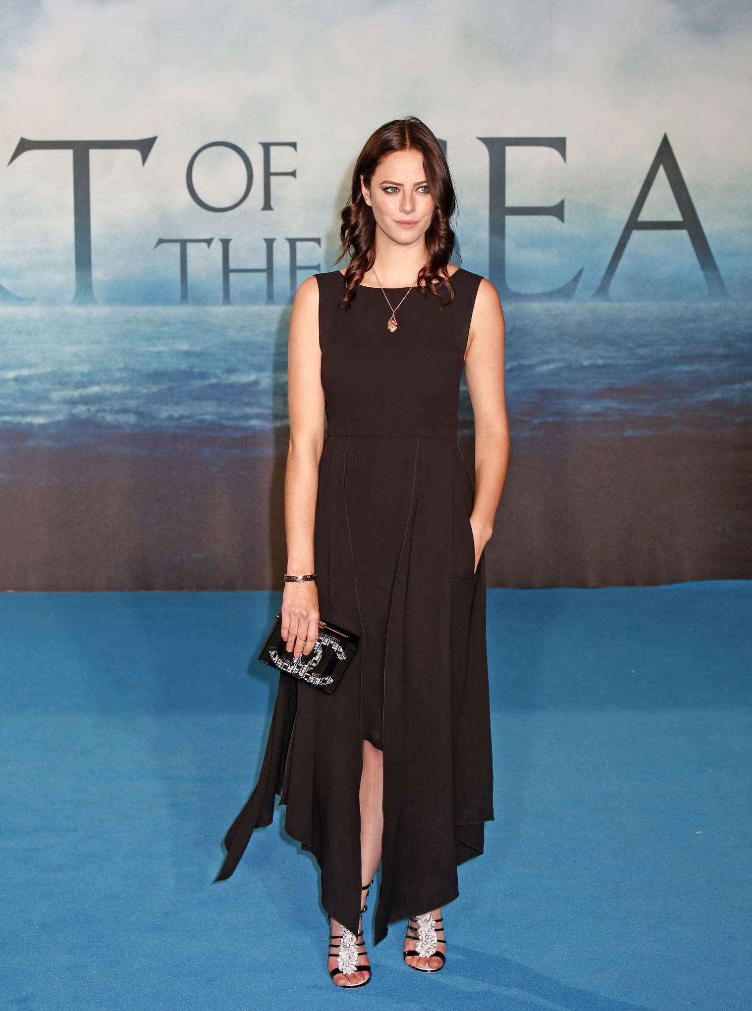 Kaya Scodelario In The Heart Of The Sea Premiere in London