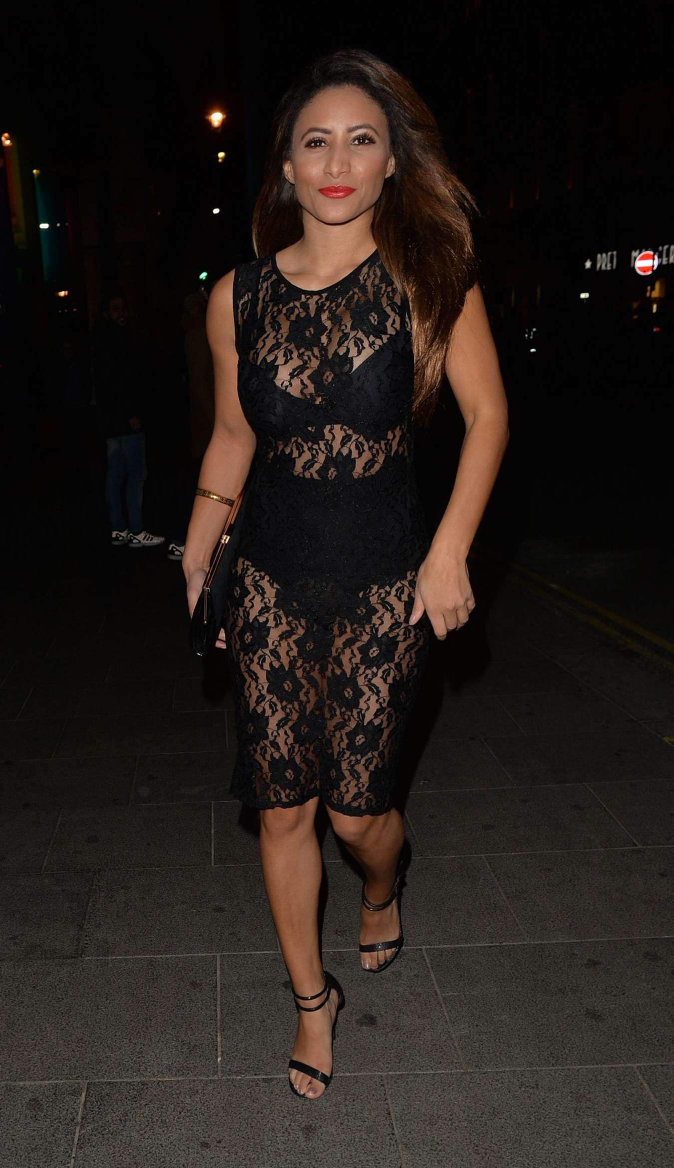Kayleigh Morris Jasmin Walia's Clothing Launch Party in London