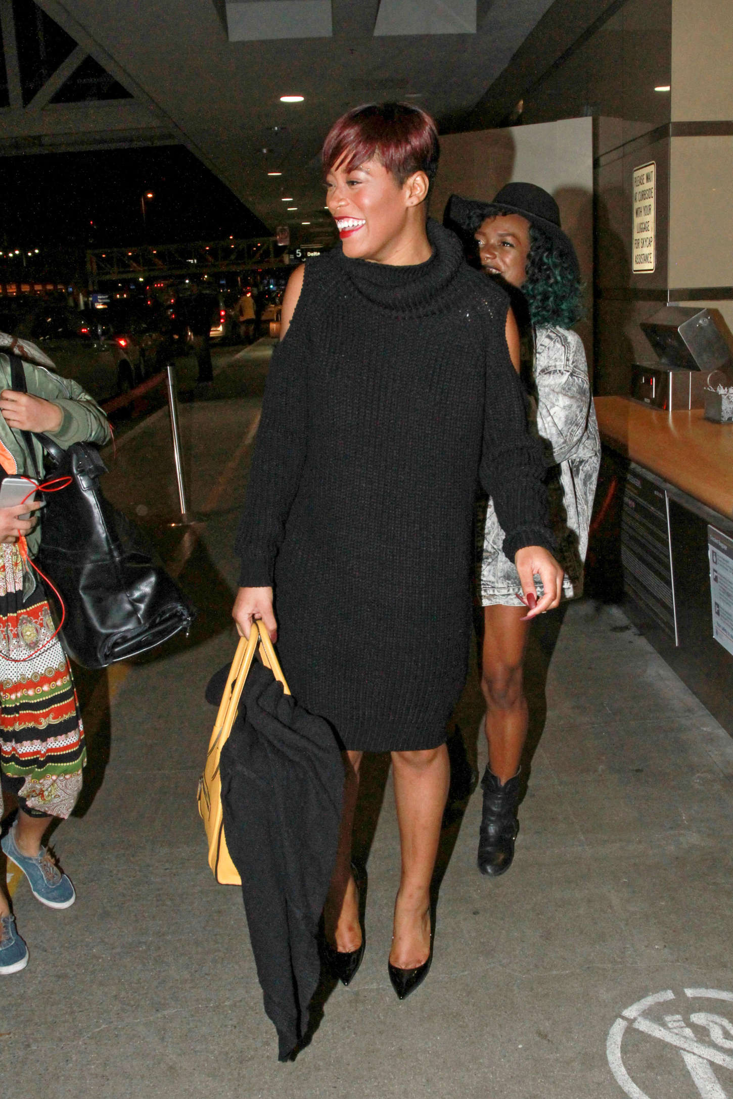 Keke Palmer Arrives at Los Angeles International Airport