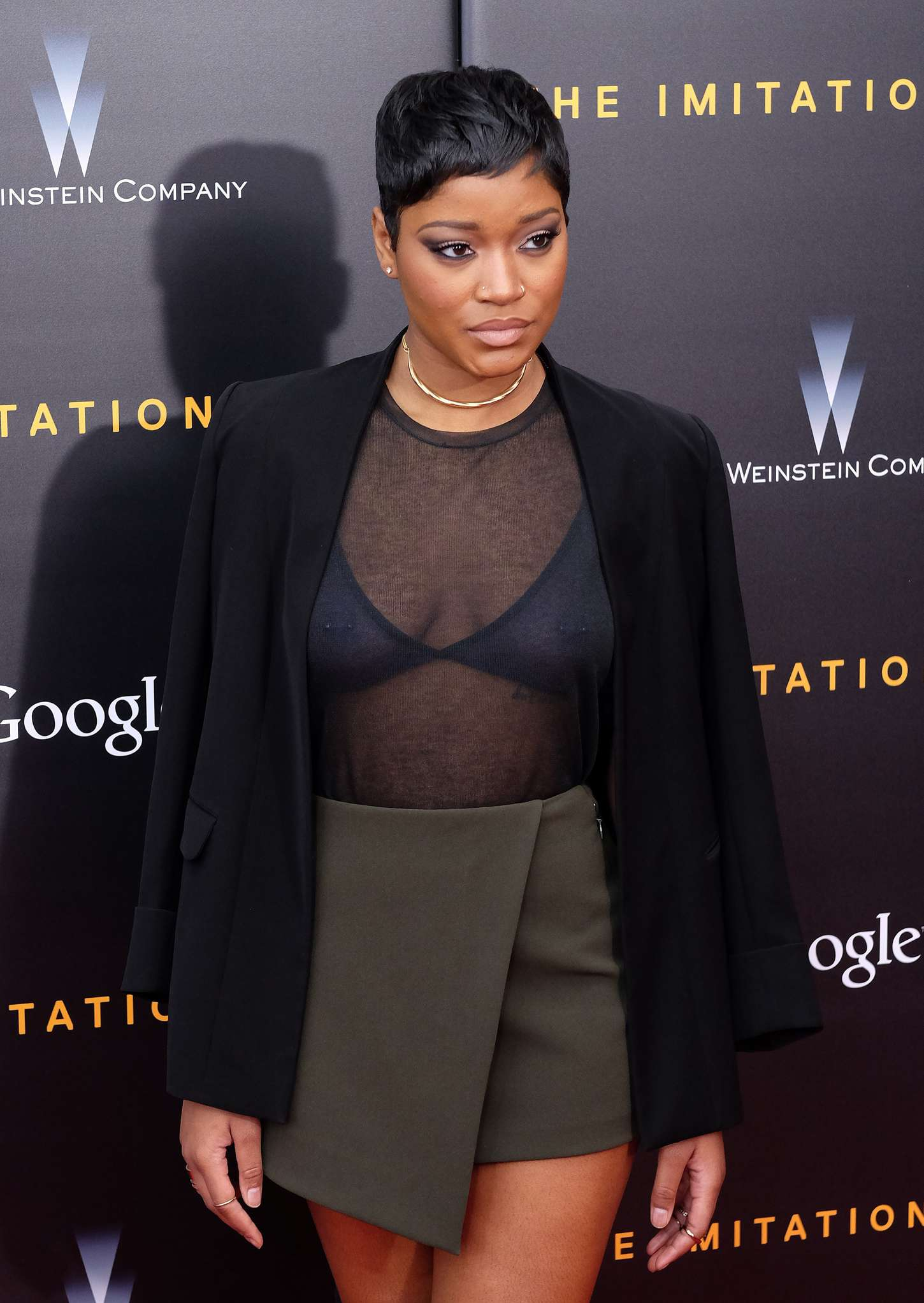 Keke Palmer The Imitation Game Premiere in New York