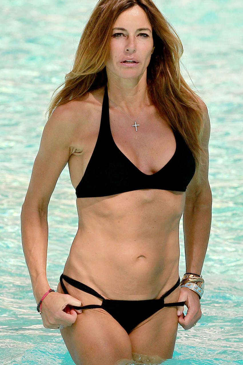 Kelly Bensimon Wearing Bikini at Seminole Hard Rock in Florida