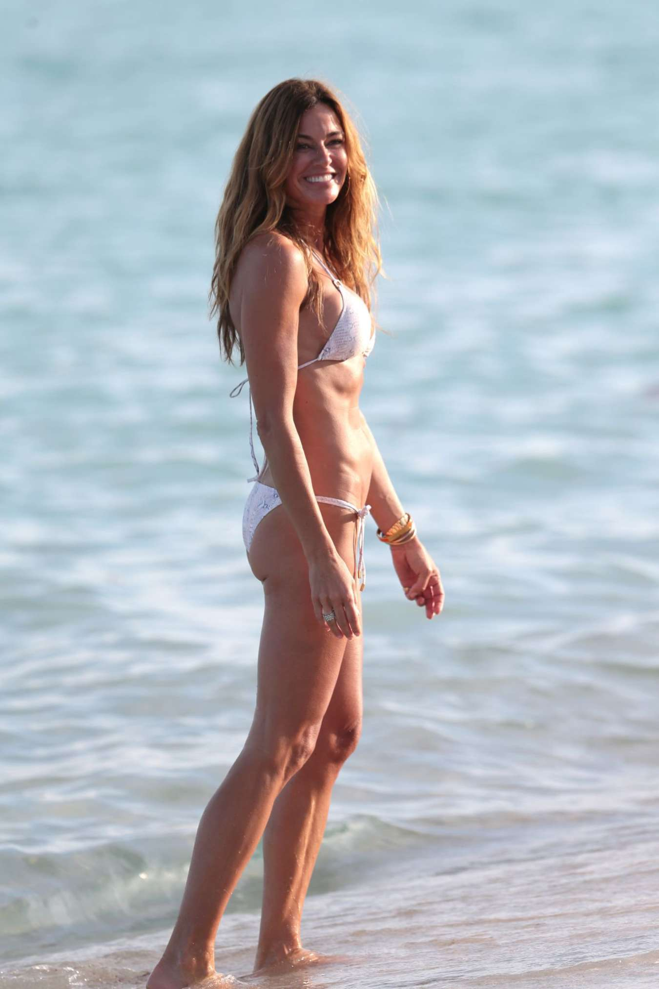 Kelly Bensimon Wearing Bikini in Miami